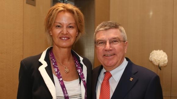 Президентът на МОК Томас Бах ще се срещне с български олимпийски шампиони...