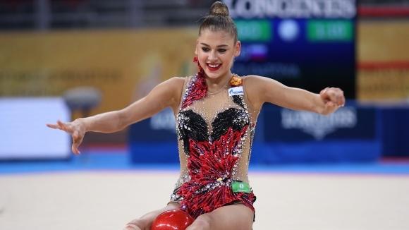 Солдатова спечели приза за най-елегантна гимнастичка на СП в София