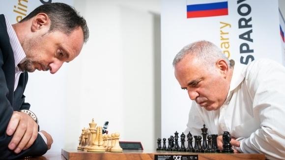 Веселин Топалов спечели мача с Гари Каспаров