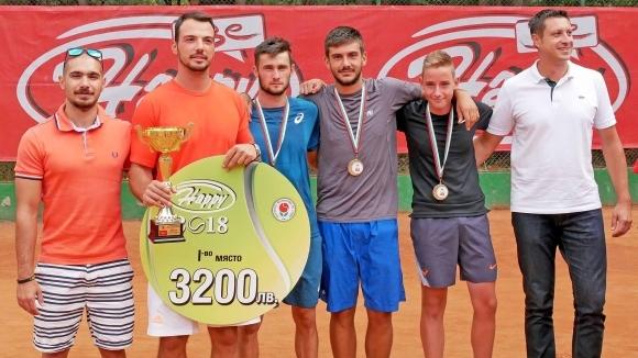НСА спечели държавната титла по тенис за мъже