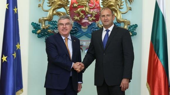 Томас Бах: Тръгвам си с прекрасни впечатления и чувства от България