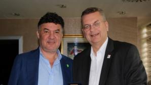 Боби Михайлов се срещна с президента на ГФС