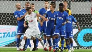 Локомотив Москва удържа 1:1 срещу Динамо
