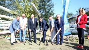 Първа копка за втория гребен канал в Пловдив
