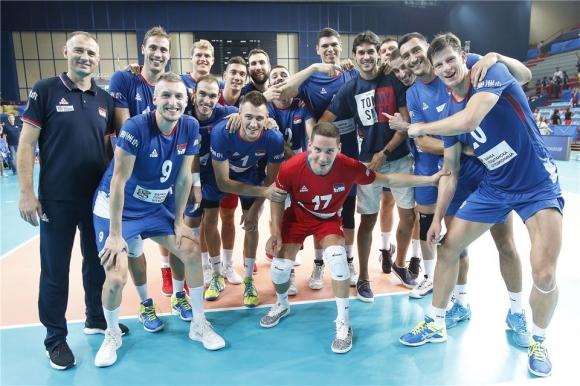 Сърбия не допусна изненада срещу Австралия (видео + снимки)