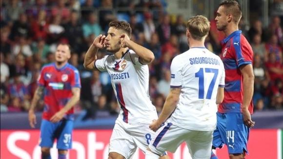 ЦСКА (Москва) се добра до точка след обрат в Чехия
