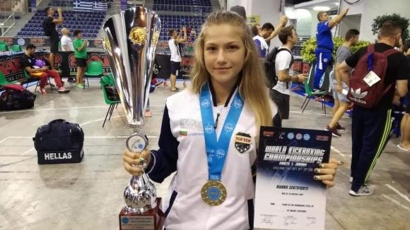 Екатерина Иванова стана световна шампионка по кик бокс