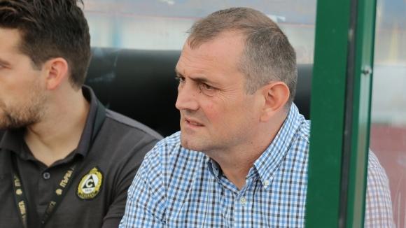 Загорчич: Очаква ни труден мач с Черно море