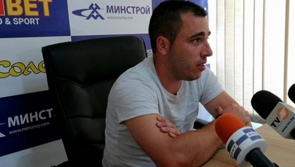 Треньорът на Дунав: Не сме толкова слаби, за колкото ни мислят