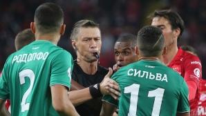 Попето титуляр при загуба на Спартак Москва у дома