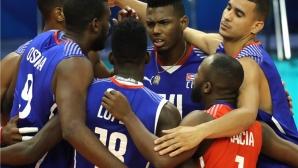 Куба удари Пуерто Рико в опашкарското дерби във Варна (видео + снимки)