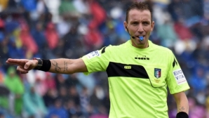 Италианец, дал 103 червени картона, свири на Лудогорец - Байер
