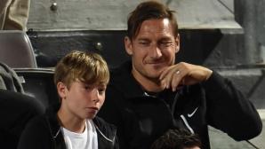 Синът на Тоти изуми всички в Италия
