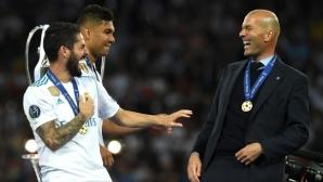 """""""В сърцето на 13-ата"""": кадри от съблекалнята на Реал Мадрид, които трябва да се видят (видео)"""