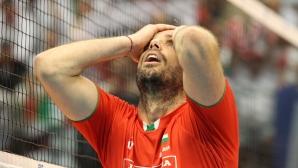 България се бори срещу световния шампион Полша, но не стигна до победата (видео + галерия)