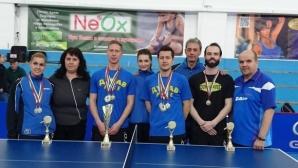 Теодор Александров стигна 1/16-финалите на Европейското по тенис на маса