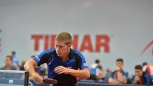 Александров отпадна на 1/16-финалите на смесени двойки на Европейското