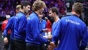 Григор: Странно и приятно е да те подкрепят Федерер и Джокович