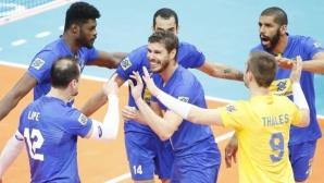 Бразилия се класира за Final 6 след 3:0 срещу Словения (видео + снимки)