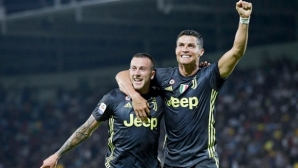 Кристиано Роналдо отново герой за Юве (видео)
