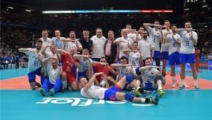 Русия стигна до F6 в Торино след разгром над Финландия (видео + снимки)