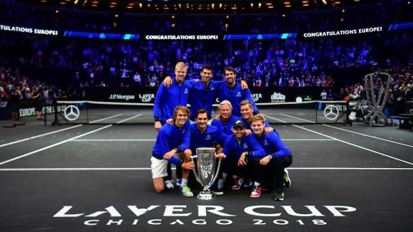 Laver Cup направи от съперници - съюзници