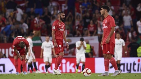 Реал Мадрид яде здрав пердах в Севиля и не се възползва от издънката на Барса (видео+галерия)