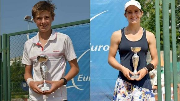 """Пьотр Несторов и Катерина Димитрова се класираха за """"Мастърс"""" турнири в Италия"""