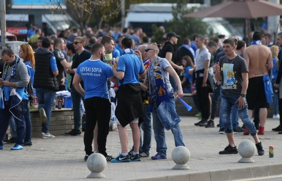Важно съобщение за феновете на Левски преди утрешния мач