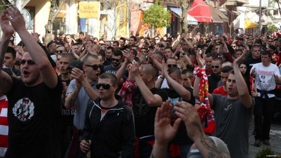 И феновете на ЦСКА-София останаха без шествие
