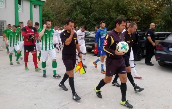 Бивш играч на ЦСКА с два гола за Вихрен срещу Септември (Симитли)