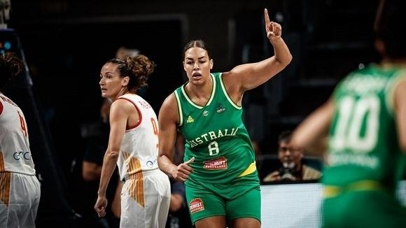 Австралия се класира за финала на Световното по баскетбол за жени