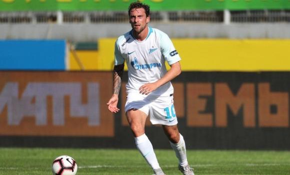 Дебютният гол на Маркизио не спаси Зенит от първа загуба (видео)