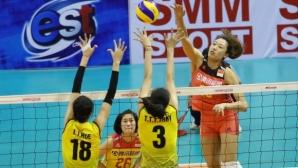 Китай спечели Азиатската купа по волейбол за жени