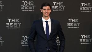 Тибо Куртоа беше избран за Най-добър вратар на годината