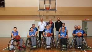 Телеком поема издръжката на първия у нас отбор за хора в инвалидни колички