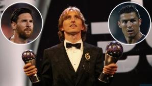 Във ФИФА недоволни от отсъствието на Меси и Роналдо