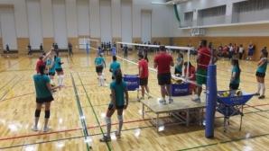 Националките по волейбол завършват лагера си в Окаяма с втора контрола