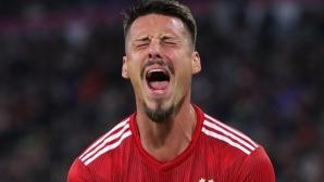 Байерн - Аугсбург 0:0 на почивката, странно решение на Ковач (гледайте тук)