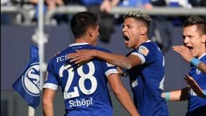 Шалке 04 докопа първи точки в Бундеслигата