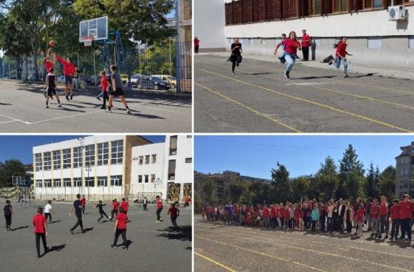 Учениците от Несебър се включиха масово в Европейския ден на спорта