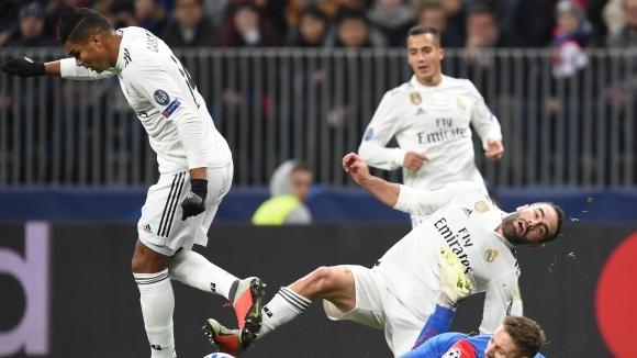 Реал не вкара за първи път от 30 мача