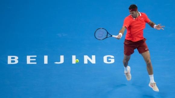 Дел Потро е на четвъртфинал в Пекин