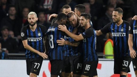 Позната картинка: Интер отново печели след обрат в ШЛ (видео)
