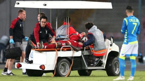 Наби Кейта в болница с травма в гърба