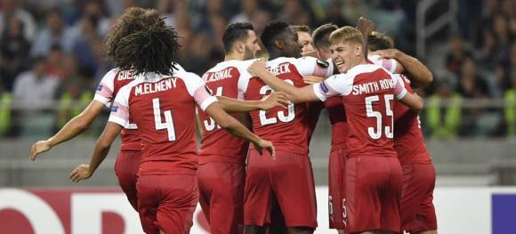 Арсенал не допусна изненада срещу Карабах (видео)
