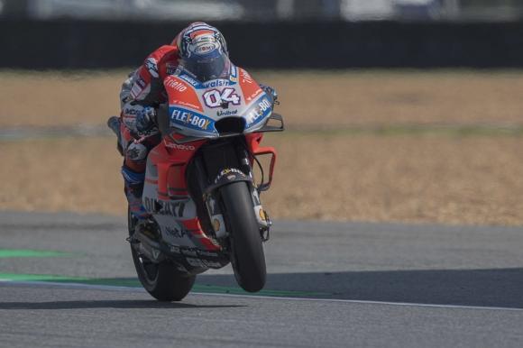 Дови оглави третата тренировка в MotoGP, Маркес катастрофира (видео)
