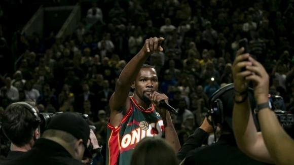 НБА се завърна в Сиатъл, макар и само за вечер (видео)