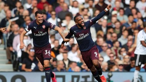 Лаказет поведе Арсенал към девета поредна победа, разгром и място в топ 4 (видео)