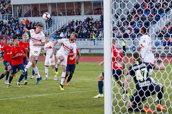 Спартак (М) се добра до победа срещу Енисей в 93-ата минута, Занев с асистенция (видео)